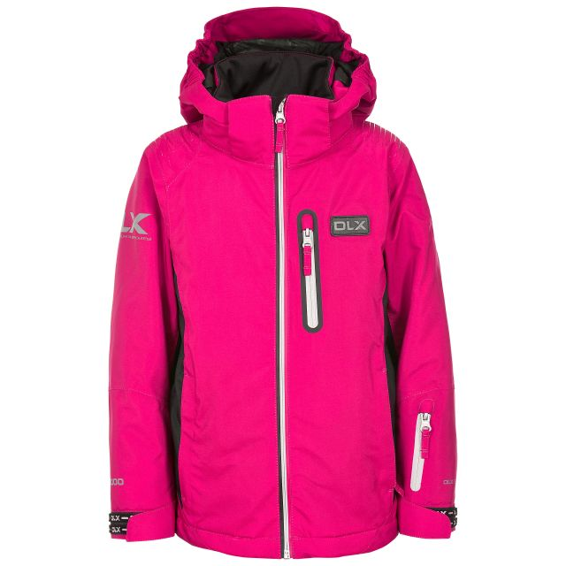 Castor Kids' DLX RECCO Ski Jacket in Pink