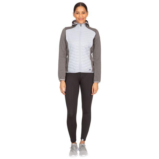 Cecilia Women's Full Zip Hoodie in Grey