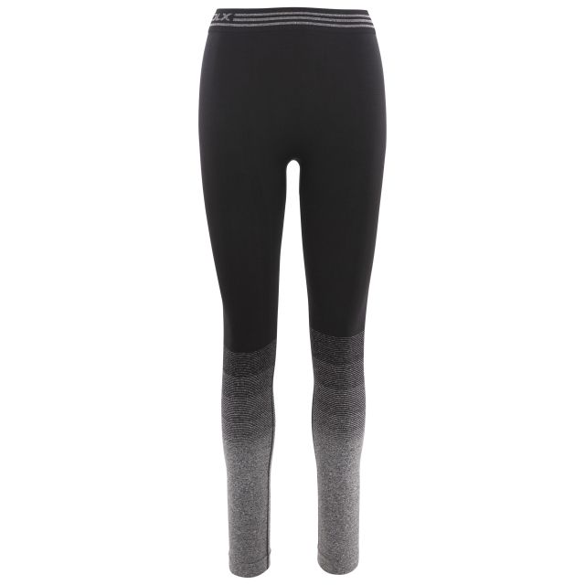 Cheryl Women's DLX Active Leggings in Black, Front view on mannequin