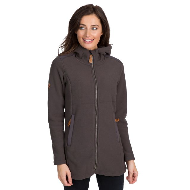 Citizen Women's Hooded Fleece in Grey