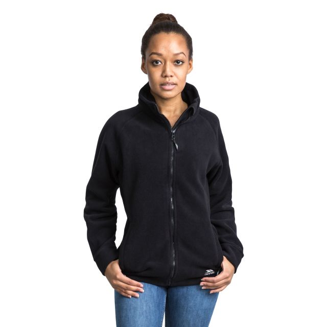 Clarice Women's Fleece in Black