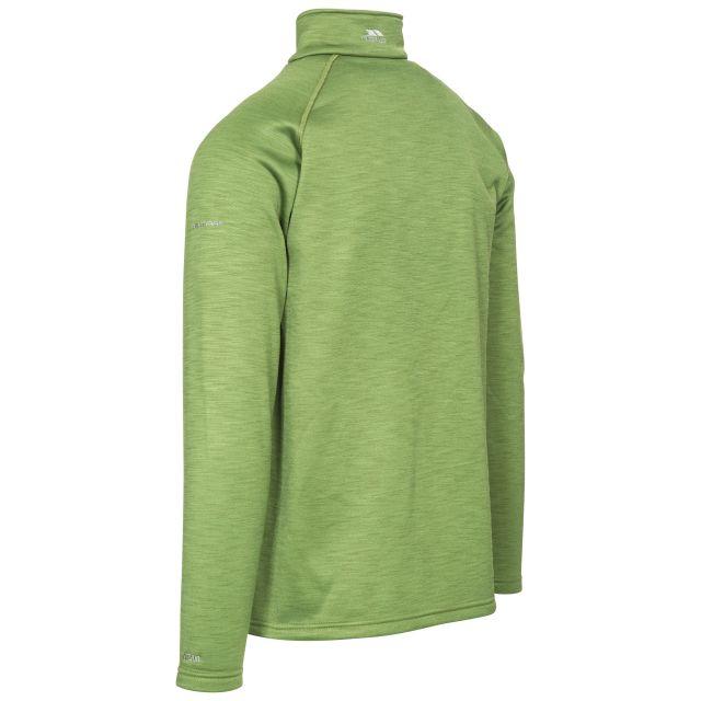 Collins Men's 1/2 Zip Fleece in Green