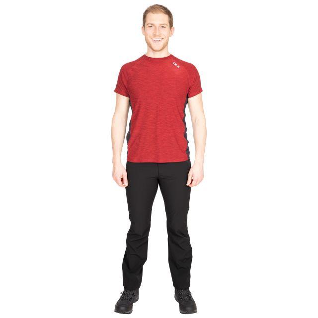 Cooper Men's DLX Active T-Shirt in Red
