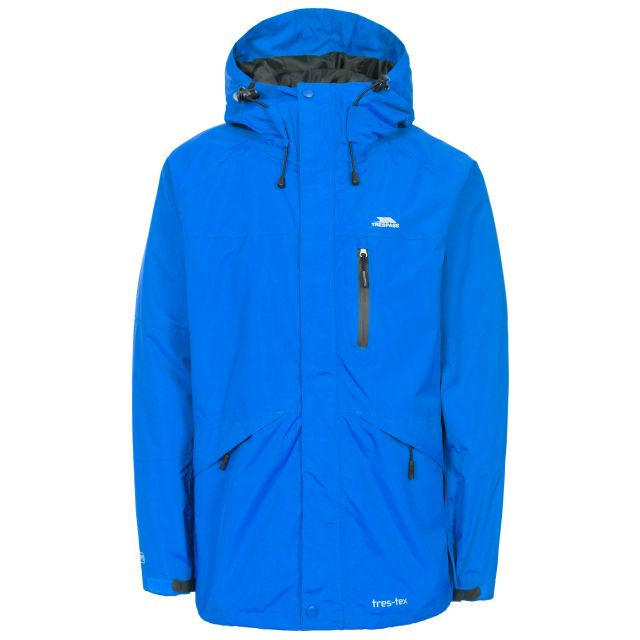 Corvo Men's Waterproof Windproof Jacket in Blue