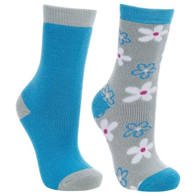 COZY Kids Hiking Socks in Turquoise