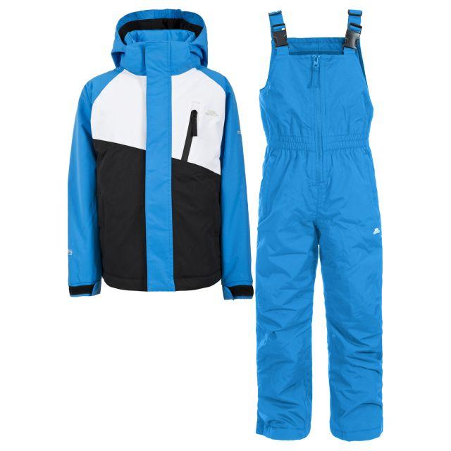 Crawley Kids' Waterproof Ski Suit Set in Blue