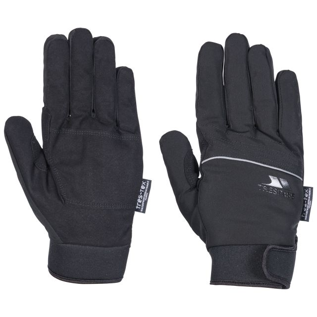 Cruzado Unisex Waterproof Gloves in Black