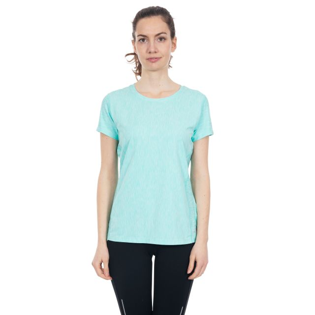 Daffney Women's Quick Dry Active T-Shirt in Light Blue