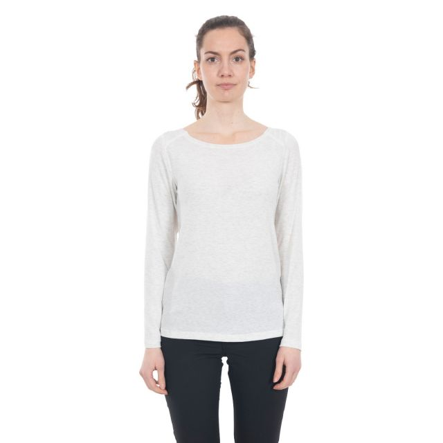 Daintree Women's Insect Repellent Long Sleeve T-Shirt in White