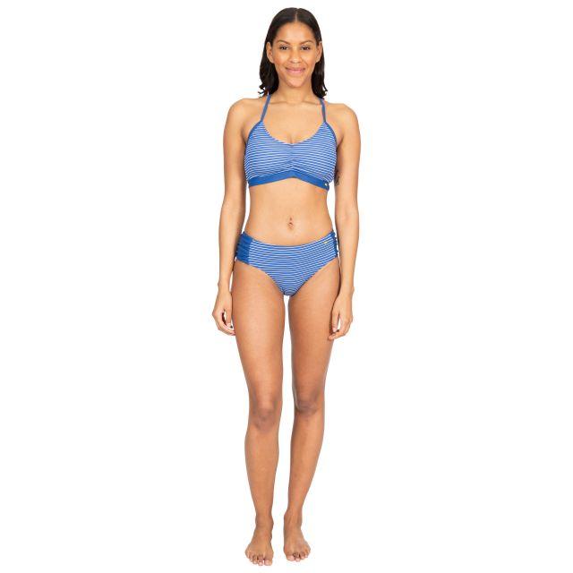 Daisy Women's Bikini Top in Blue