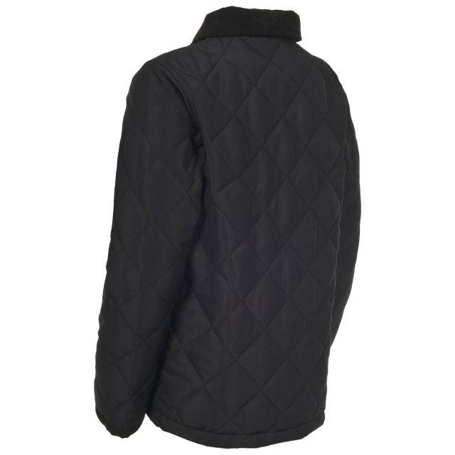 Dakota Kids Black Casual Padded Jacket in Black