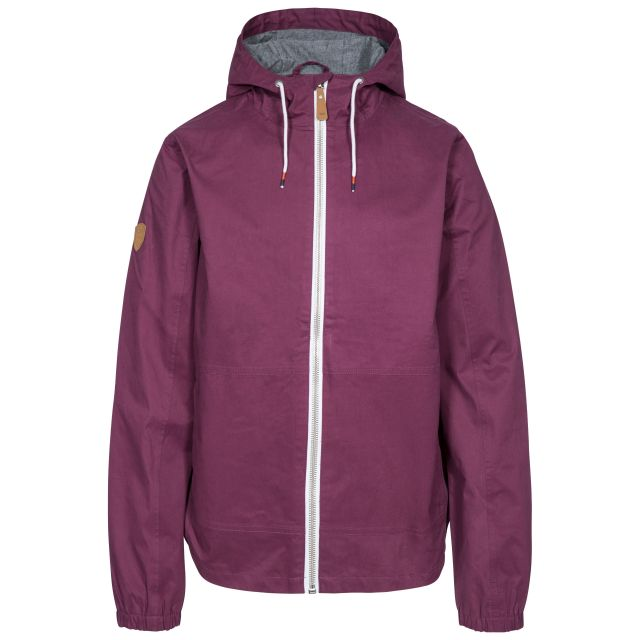 Dalewood Men's Waterproof Jacket in Purple