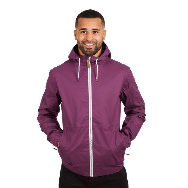 Dalewood Men's Waterproof Jacket in Purple