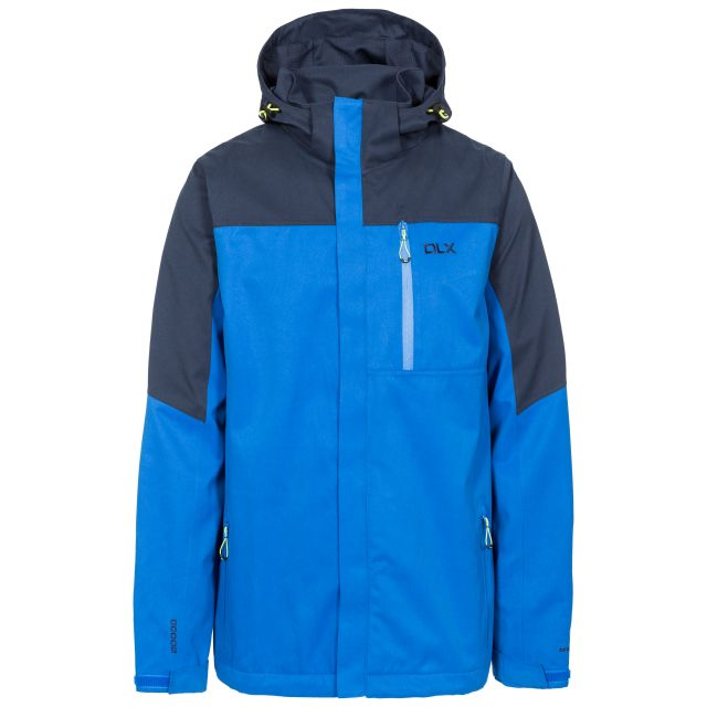 Danson Men's DLX Waterproof Jacket in Blue