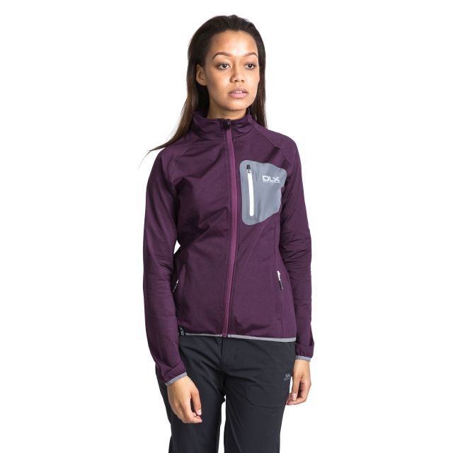 Darby Women's DLX Active Jacket in Purple