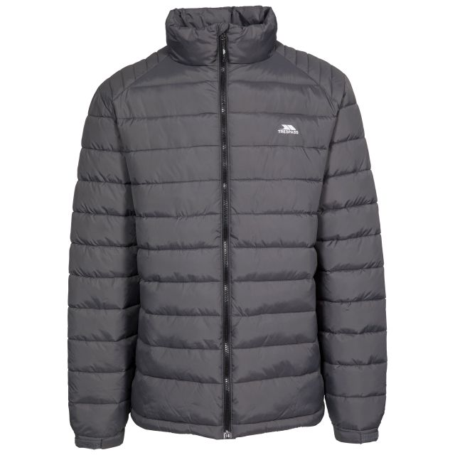Darrell Men's Padded Casual Jacket in Grey