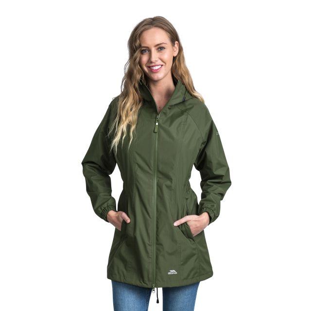 Daytrip Women's Waterproof Jacket in Khaki
