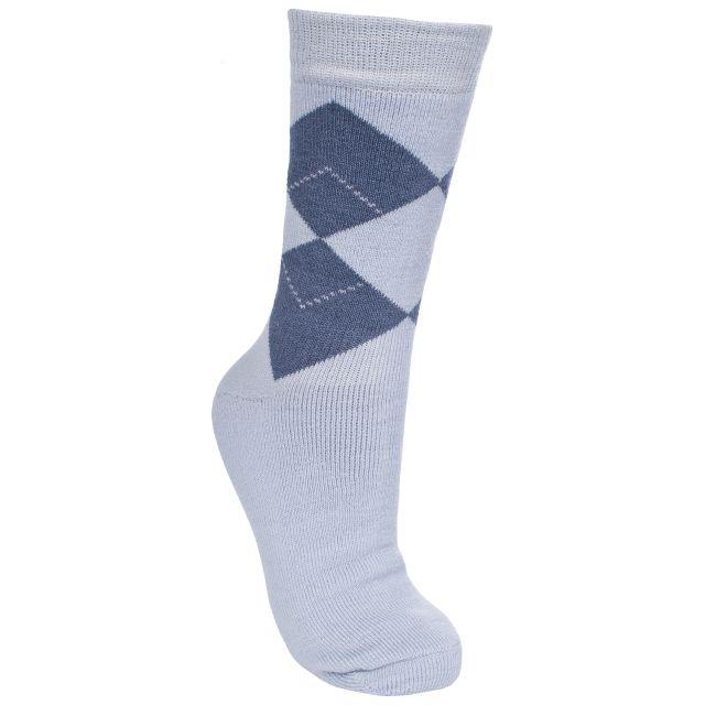 Deserve Women's Walking Socks in Light Blue