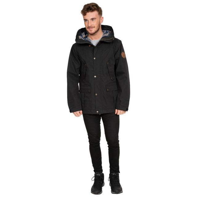 Destroyer Men's DLX Waterproof Jacket in Black