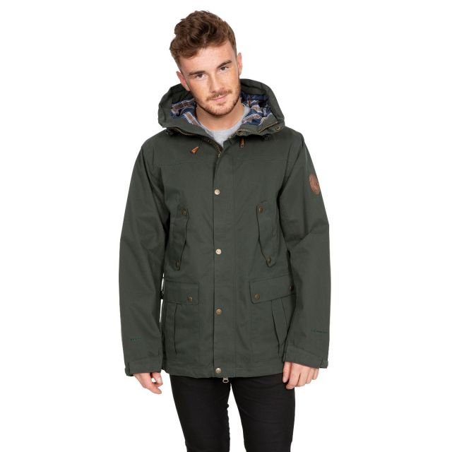 Destroyer Men's DLX Waterproof Jacket in Khaki