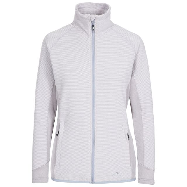Detour Women's Fleece in Light Grey