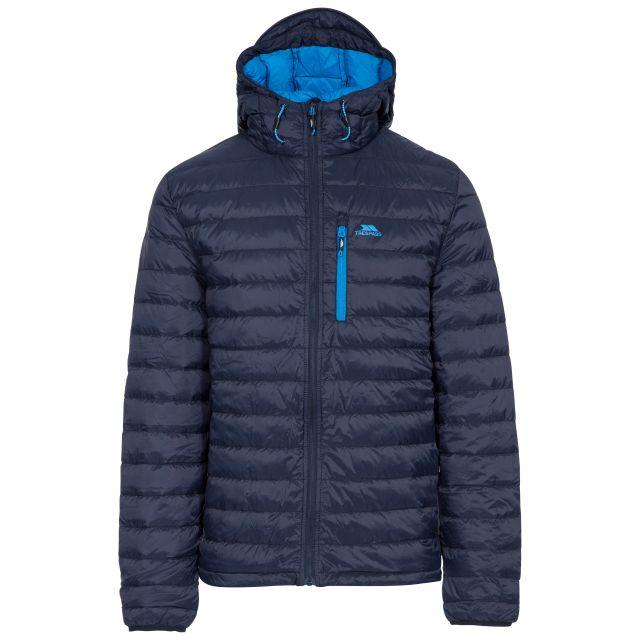 Digby Men's Down Packaway Jacket in Blue