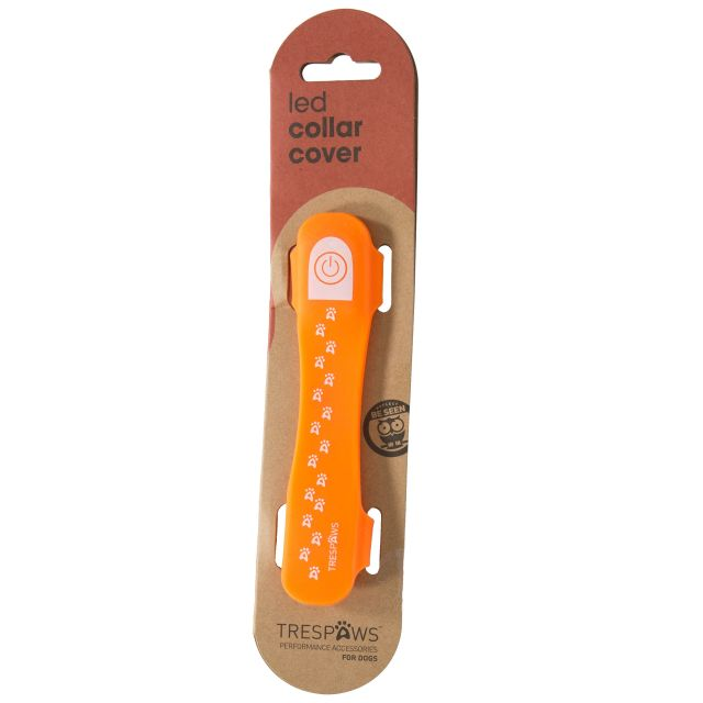 Disco Dog Hi-Vis LED Dog Collar in Yellow