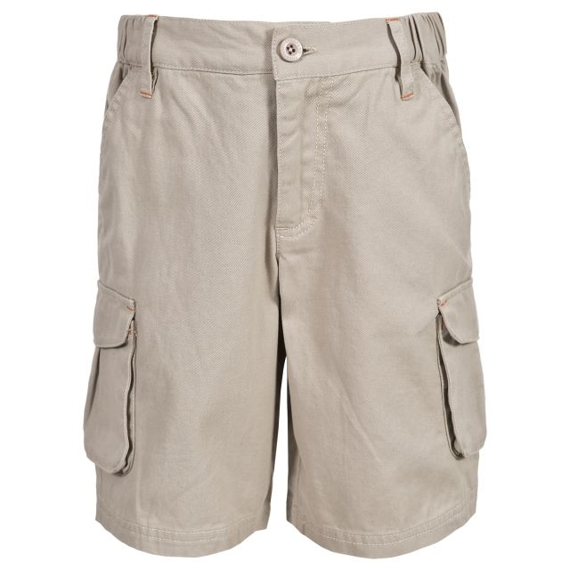 Dolton Kids' Cargo Shorts in Beige