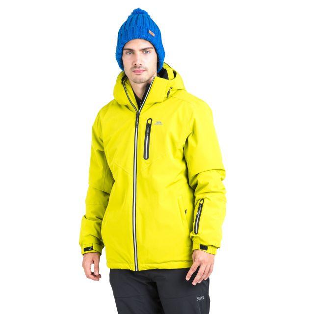 Duall Adults' Waterproof Ski Jacket in Neon Green
