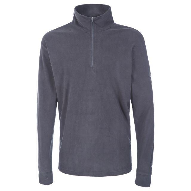 Duty Men's 1/2 Zip Fleece  in Grey