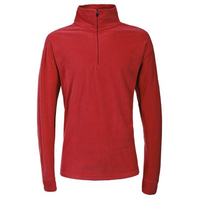 Duty Men's 1/2 Zip Fleece  in Red