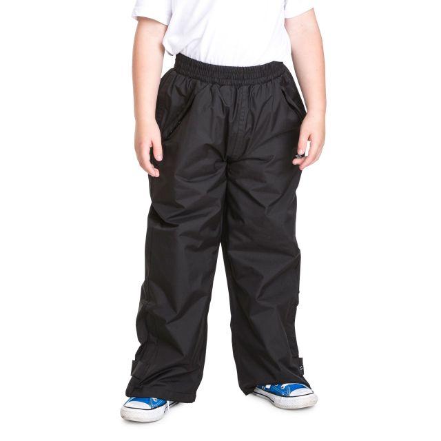 Echo Kids' Black Waterproof Trousers