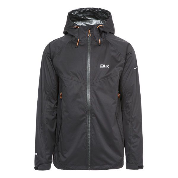 Edmont II DLX Men's Waterproof Jacket in Black