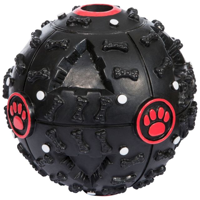 Einstein Reward Ball Dog Toy in Black