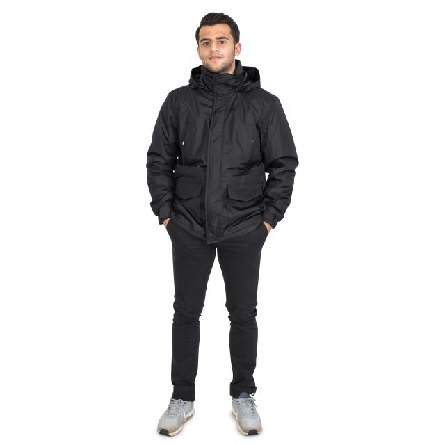 Elk Men's Waterproof Jacket in Black
