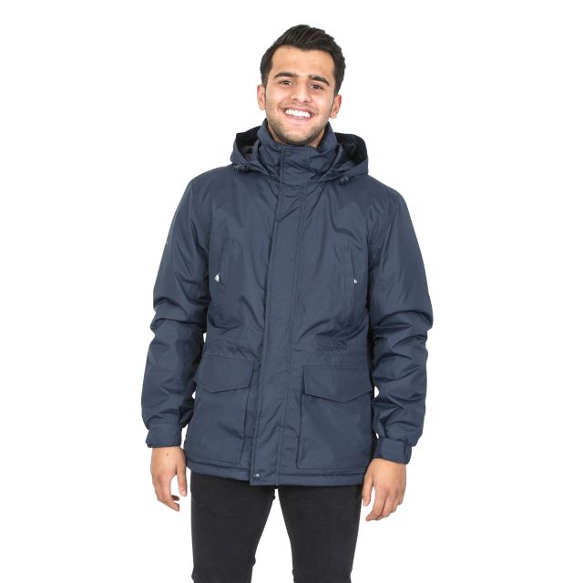 Elk Men's Waterproof Jacket in Navy
