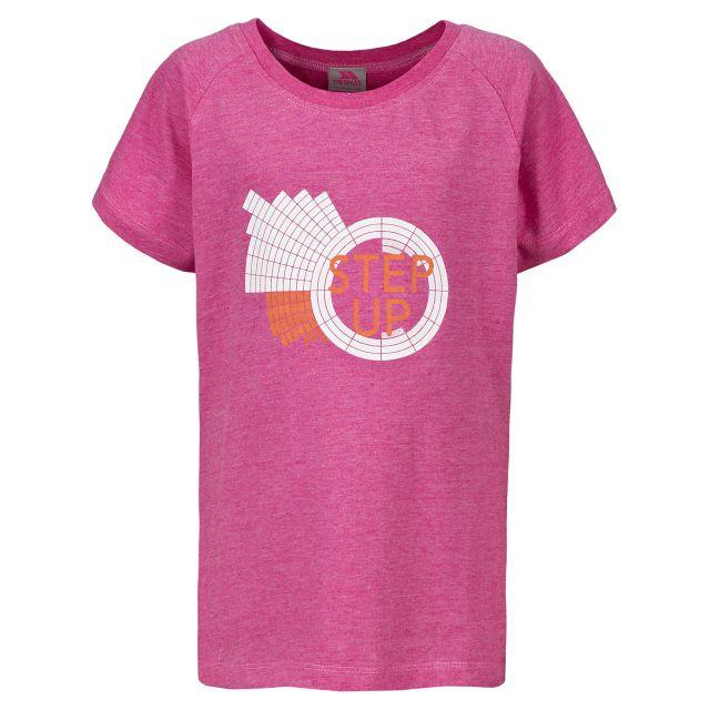 Elva Kids' Printed T-shirt in Pink