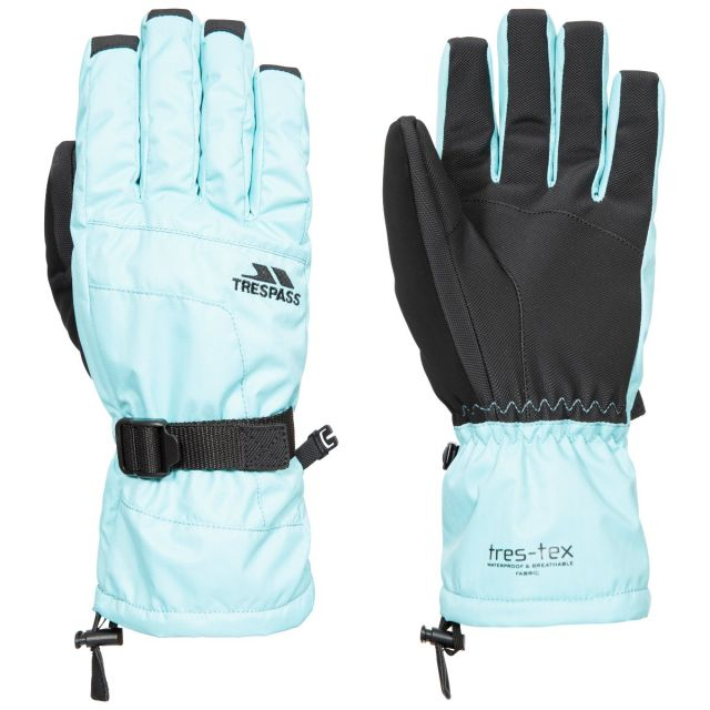 Embray Unisex Ski Gloves in Light Blue