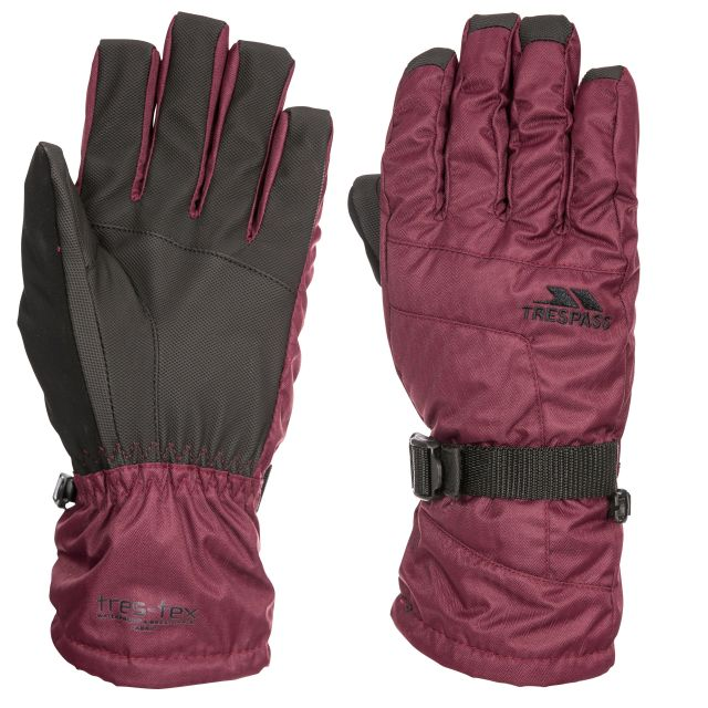 Embray Unisex Ski Gloves in Purple