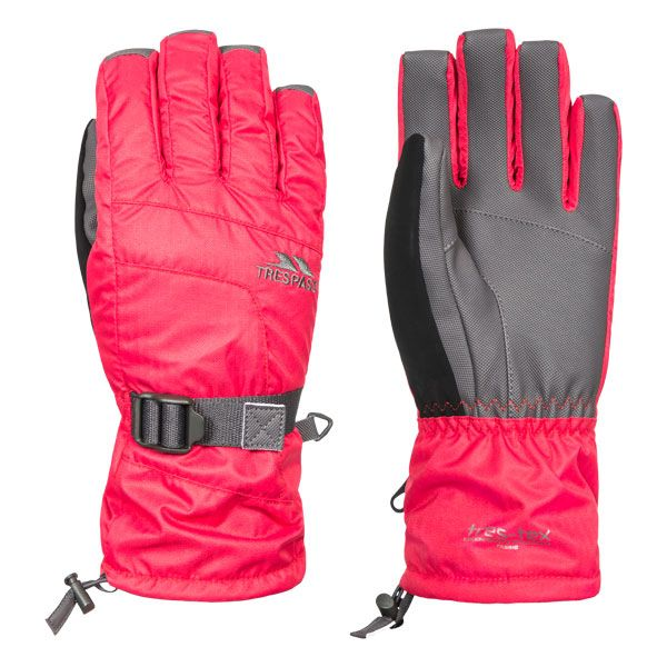 Embray Unisex Ski Gloves in Pink