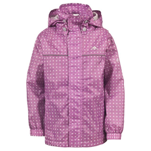 Enjoy Kids' Waterproof Jacket in Light Pink