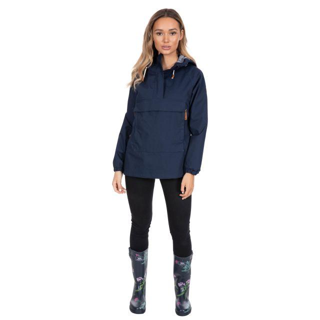 Trespass Womens Waterproof Jacket  Pullover Entirely Navy