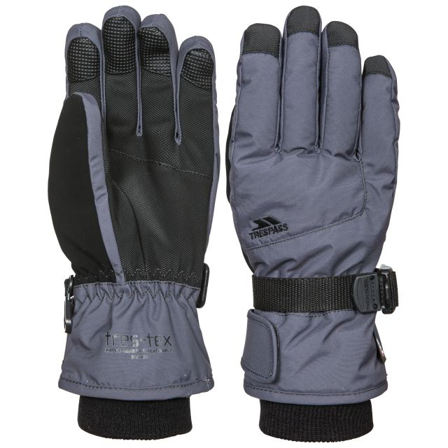 Ergon II Kids' Ski Gloves in Grey