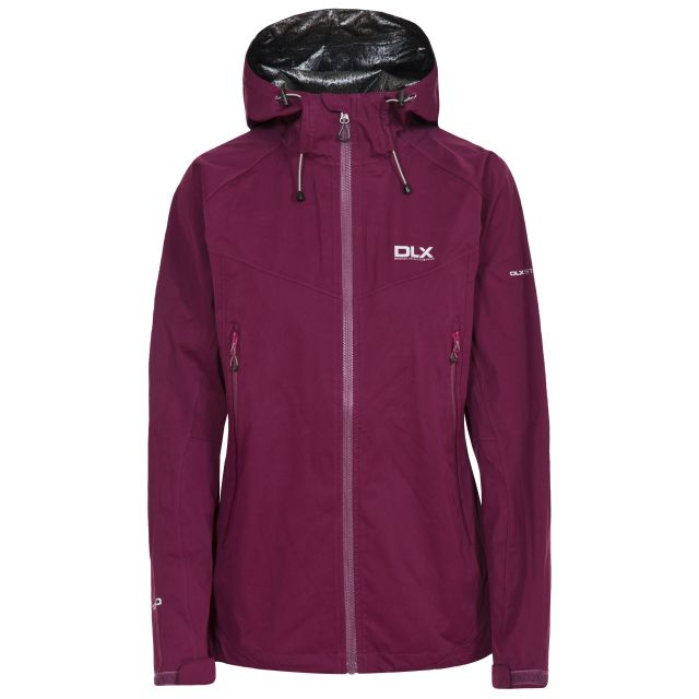Erika II Women's DLX Waterproof Jacket  in Burgundy