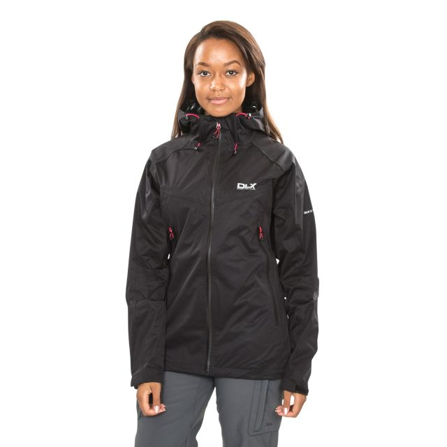 Erika II Women's DLX Waterproof Jacket  in Black