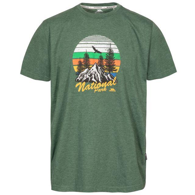 Estate Men's Printed Casual T-Shirt in Green