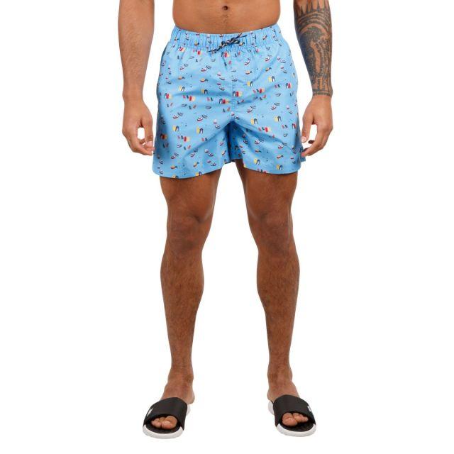 Trespass Men's Swimshorts Eugine Blue Print
