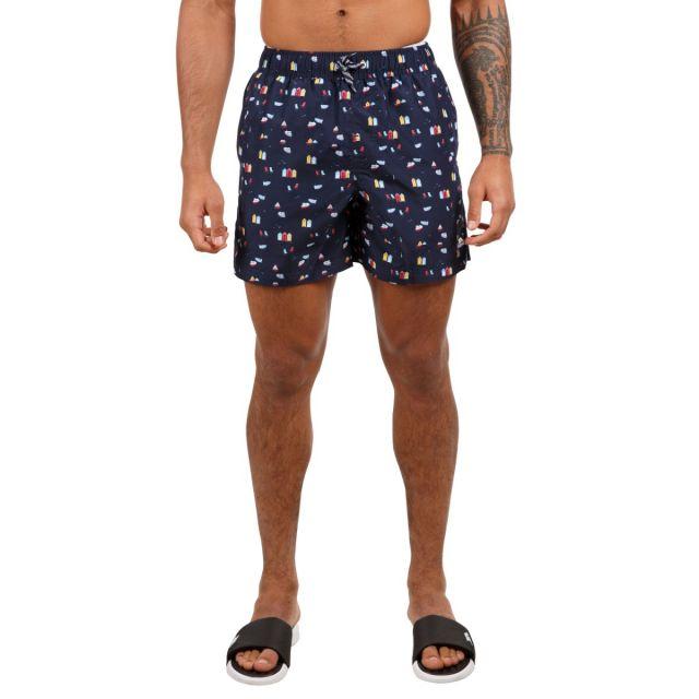 Trespass Men's Swimshorts Eugine Navy Print