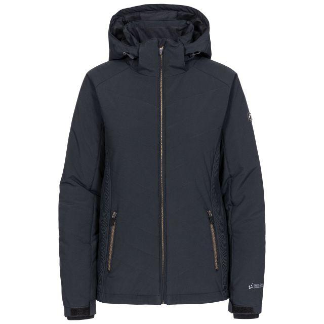 Eva Women's Lightly Padded Waterproof Ski Jacket in Black