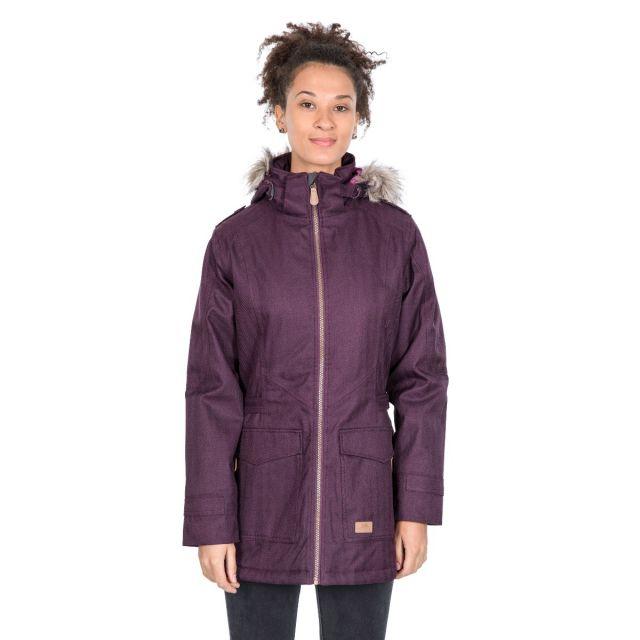 Everyday Women's Padded Waterproof Jacket in Purple